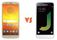 Galaxy J3 vs Moto E5 Play