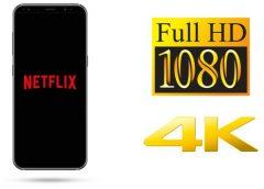 Que móviles permitirán ver Netflix en HD