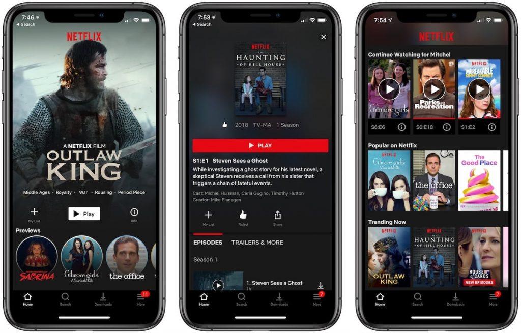 ver Netflix en HD en un Smartphone