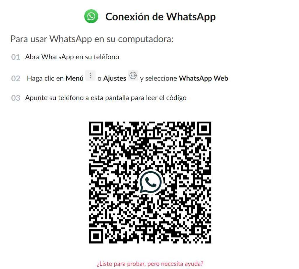 conexion con whatsapp